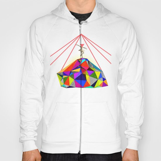 the dancer who could bring colors to the whitest iceberg  Hoody