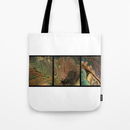 Universe of Souls - Triptych Tote Bag