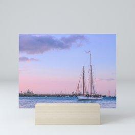 Sailing Yacht Mini Art Print