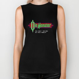 Castlevania - Die Monster. You Don't Belong In This World! Biker Tank