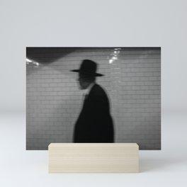 Old Man with a Hat, B Mini Art Print