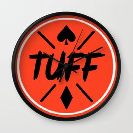 TUFF Logo Wall Clock