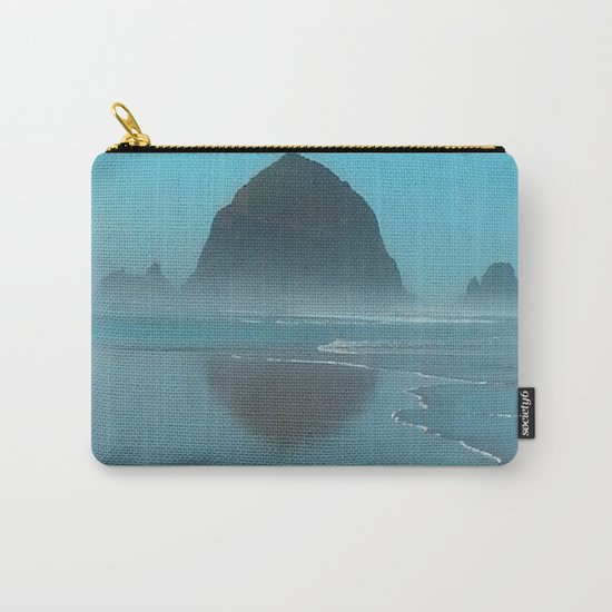 Haystack Rock, Cannon Beach Oregon Carry-All Pouch
