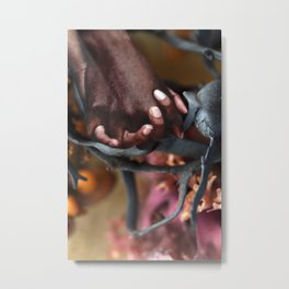 The Soothing Metal Print
