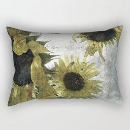 autumnal sunflowers Rectangular Pillow