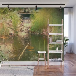 The Pond Wall Mural