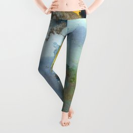 Alcohol Ink 'The Storybook Series: Thumbelina' Leggings