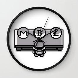 Bitcoin, Litecoin or Monero: choose your initial coin Wall Clock