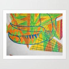 Decay of Tucan 2 Art Print