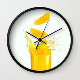 Tropical Juice Wall Clock