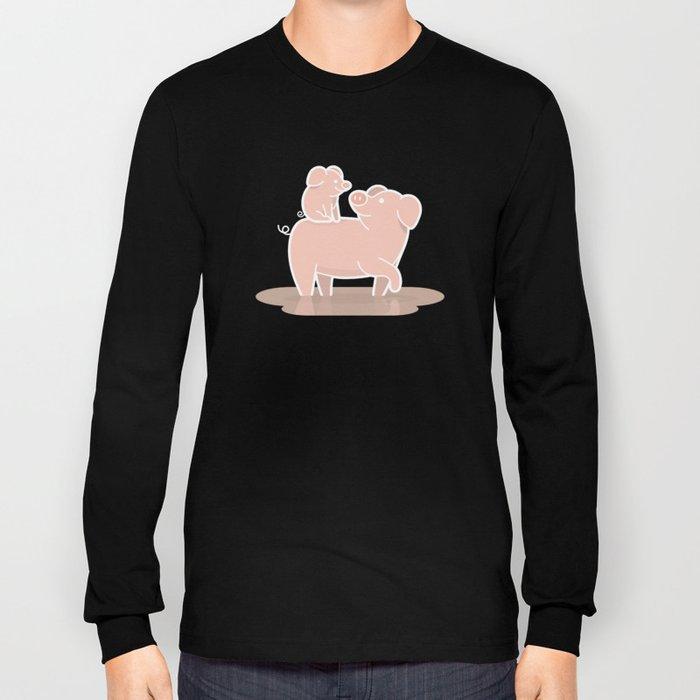 Piggyback Long Sleeve T-shirt