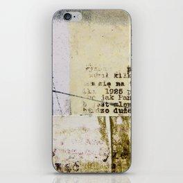 Crossed Lines iPhone Skin