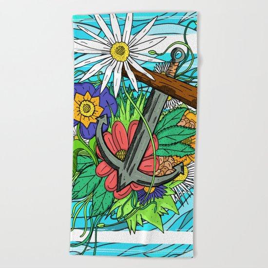 Nature's Anchor Beach Towel