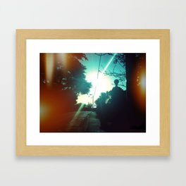 Sunshine on Killiney, Dublin, Ireland Framed Art Print