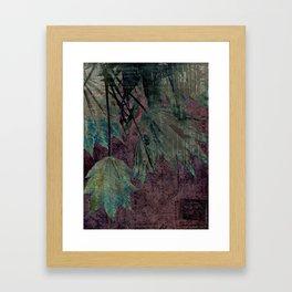 urban maple Framed Art Print