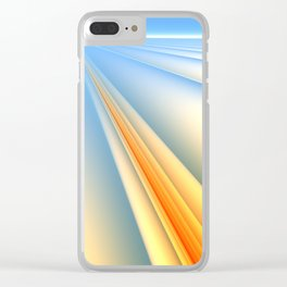 The Blinding Light of Day Clear iPhone Case