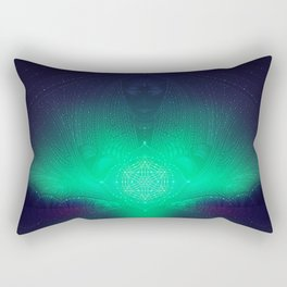 dreaming gate Rectangular Pillow