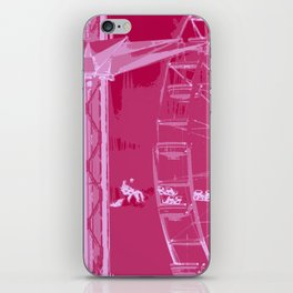 Carnival Rides - Pink Hues iPhone Skin