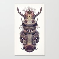 totem Canvas Prints featuring Totem by Diligence