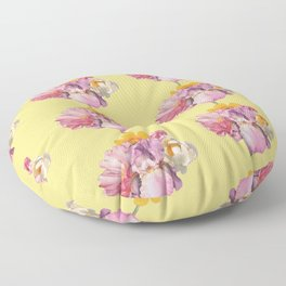 polly (pattern) Floor Pillow