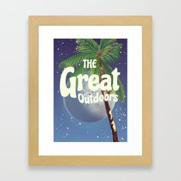 The Great Outdoors Moon Framed Art Print