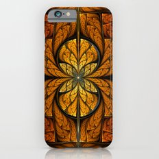 Glowing Feathers Fractal Art iPhone 6s Slim Case