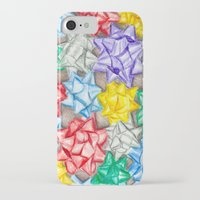 bows iPhone & iPod Cases featuring Bows by Lady Tanya bleudragon