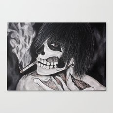 Neither Rick nor Famous. Canvas Print