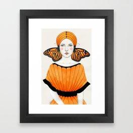Anais Framed Art Print