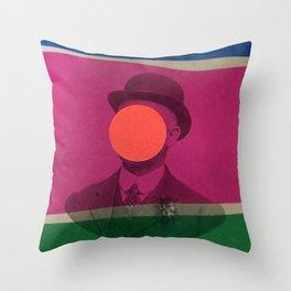 Magritte Throw Pillow
