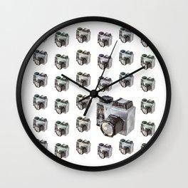 Paper Camera Wall Clock