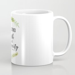 She is Clothed with Strength and Dignity (Proverbs) Coffee Mug