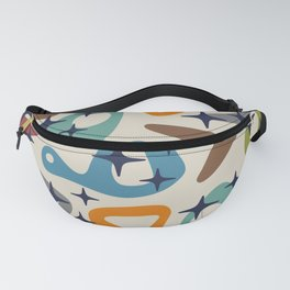 Retro Mid Century Modern Abstract Composition 926 Fanny Pack
