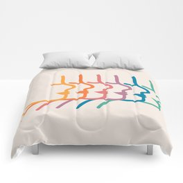 Boca Silhouettes Comforters