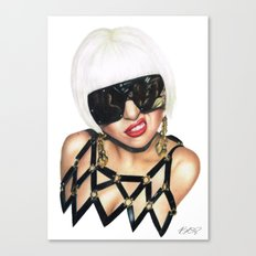 Always a Monster Canvas Print