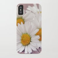 daisies iPhone & iPod Cases featuring Daisies. by Mary Berg