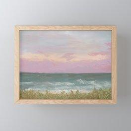 Evening at Cocoa Beach Framed Mini Art Print