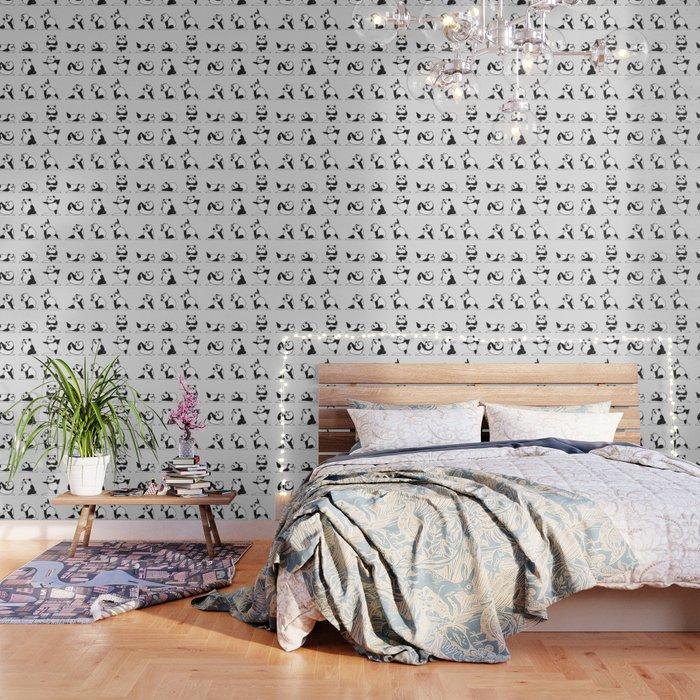 Panda Yoga Wallpaper