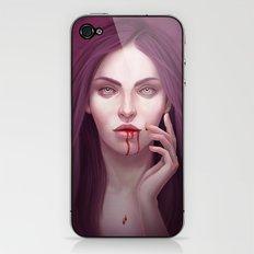 blood iPhone & iPod Skin