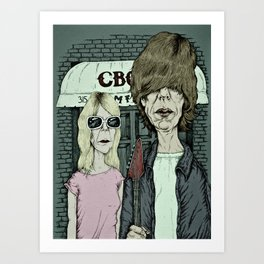 American Indie - Sonic Youth Art Print