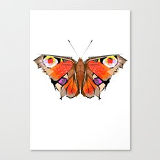 Geobutterfly Canvas Print
