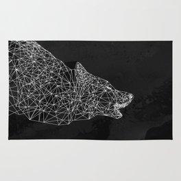 Midnight Wolf Rug