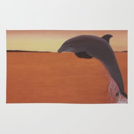 Dolphin Leap of Joy Rug