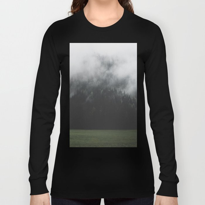 Spectral Forest - Landscape Photography Long Sleeve T-shirt