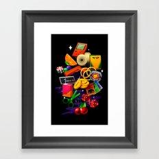 BORN 88 Framed Art Print