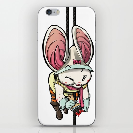 Bat Rabbit iPhone & iPod Skin