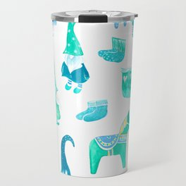 Tomte, Nisse, Swedish gnomes Travel Mug