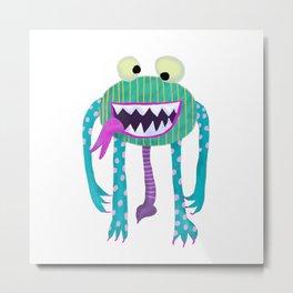 Monster Hugo Metal Print