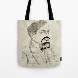 Claude Debussy Tote Bag