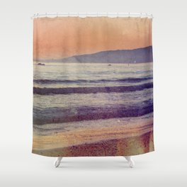 Searching for the Ocean's Serenity Shower Curtain